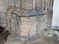 60 Aslackby St James, interior - Chancel Arch pillar plinth.jpg