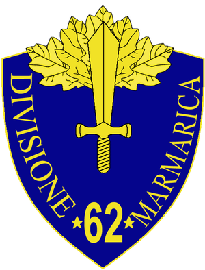 62nd Infantry Division Marmarica - 62nd Infantry Division Marmarica Insignia