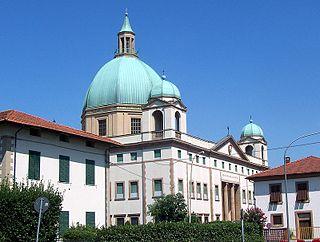 Sanctuary of Santa Gemma, Lucca church in Italy