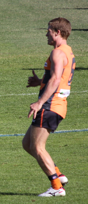 Luke Power - Power with the Giants in 2012