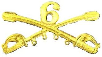 6th Cavalry Regiment - 6th Regiment United States Cavalry insignia