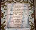 7218 - Milano - S. Maria d. Passione - Lapide Giampietro Cicogna 1907 - Foto G. Dall'Orto, 26-Feb-2008.jpg