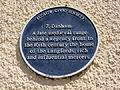 7 Dinham plaque, Ludlow - IMG 0203.JPG