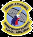 864th Radar Squadron - Emblem.png
