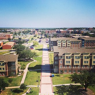 Commerce, Texas - View of the Texas A&M University–Commerce campus
