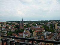 Altenburg: urbocentro kun la Ruĝeca Speyer