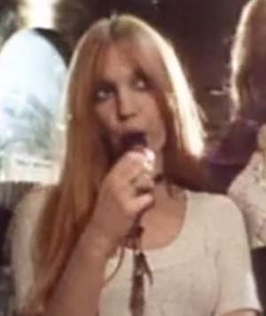 Gillian Hills - Hills in the trailer for A Clockwork Orange (1971).