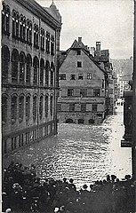 Hochwasser Nürnberg 1909