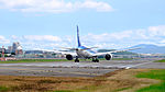 ANA Boeing 787-8 JA807A Taking off from Taipei Songshan Airport 20151003a.jpg