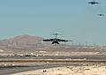 A C-17 Globemaster prepare to land during the Mobility Air Forces Exercise at Nellis AFB.jpg