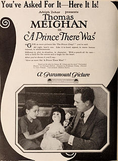 <i>A Prince There Was</i> 1921 film by Tom Forman