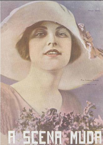 Barbara Bedford (actress) - Portrait of Bedford on the cover the Brazilian movie magazine A Scena Muda in 1922