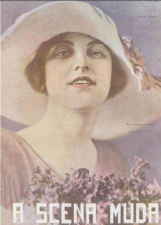 Barbara Bedford (actress) - Portrait of Bedford on the cover the Brazilian movie magazine A Scena Muda in 1922
