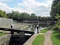 A View of the Canal Junction from Lock No 1 on the Aylesbury Arm - geograph.org.uk - 1495243.jpg