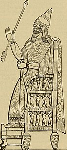 Detailed drawing of the same relief