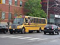 A school bus heads north at Parliament and Front, 2015 05 10 (2).JPG - panoramio.jpg