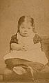 A very young girl, showing signs of mental deficiency, seate Wellcome V0030007EL.jpg