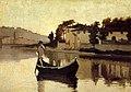 Abbati, Giuseppe - Arno near Casaccia (1863).jpg