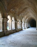 Abbaye de Fontenay - le cloitre