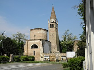 Badia Polesine - Part of Vangadizza Abbey in the centre of Badia Polesine.