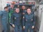 File:Abertura da escotilha da Estação Espacial Internacional e boas vindas à nova tripulação.webm