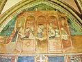 Abondance. Décor peint, dans le cloître. (3). 2015-06-20.JPG