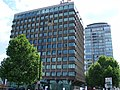 Abseiling on London Government Offices Millbank - geograph.org.uk - 1353251.jpg