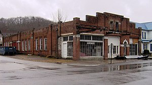 National Register of Historic Places listings in Roane County, Tennessee - Image: Abstons garage tn 1