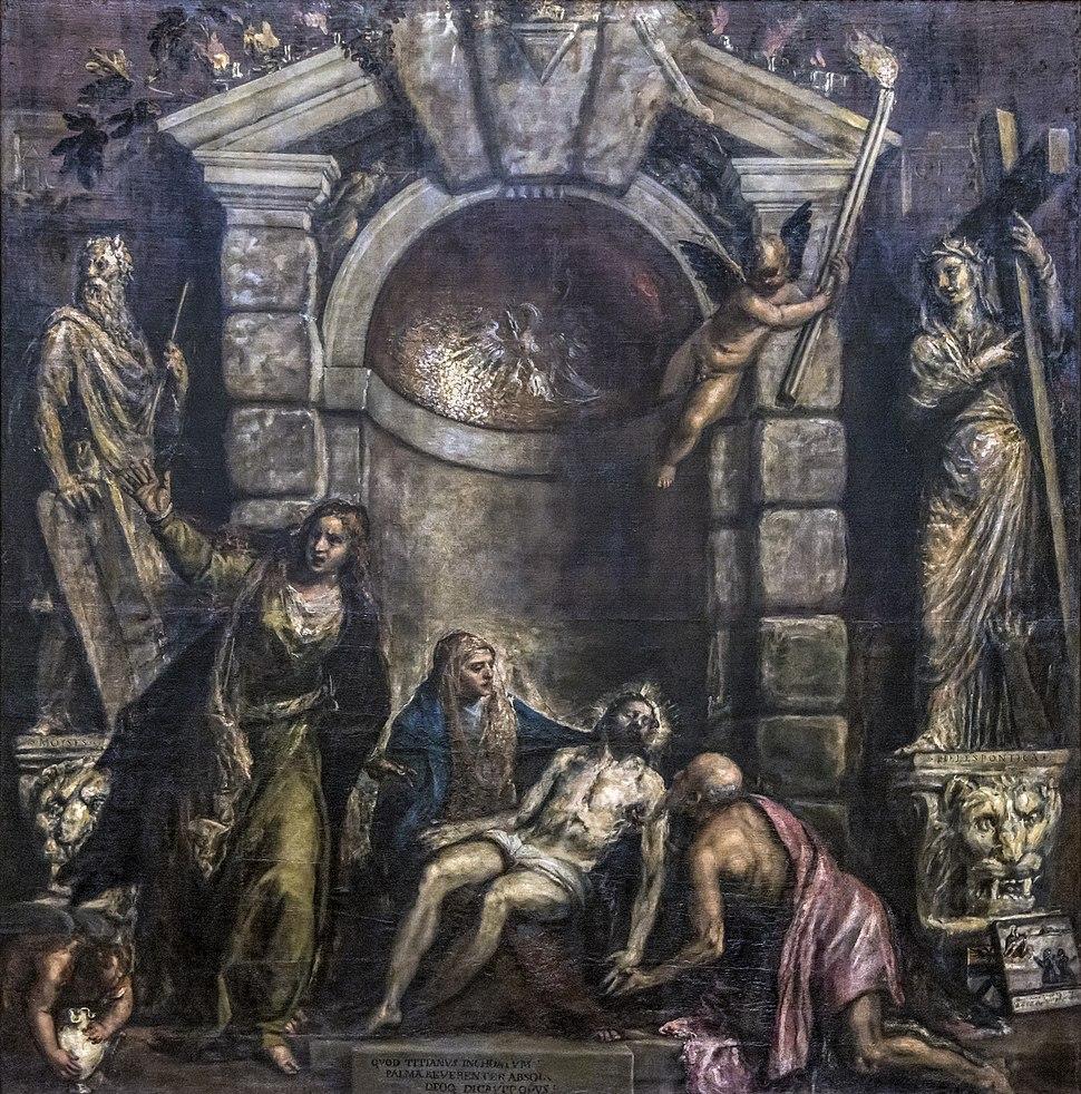 Accademia - Pietà by Titian