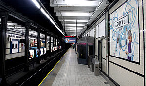 Acoyte (Buenos Aires Underground) - Image: Acoyte GCBA(1)
