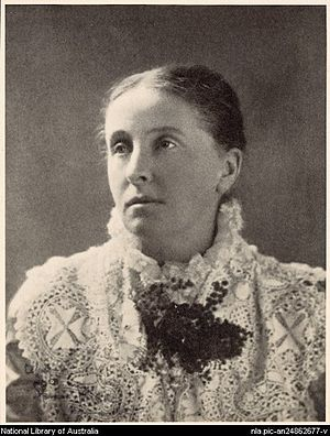 Photograph of Ada Cambridge by Spencer Shier c...