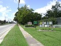 Adel Welcome Sign, GA Hwy 76 from East.JPG