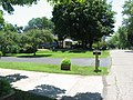 Adena Mound, lawns on northern edge with street.jpg