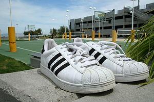 Chief Yahoo David Filo's sneakers.