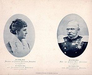 Adolph und Adelheid von Luxemburg