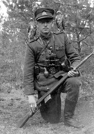 "Forest Brothers - Adolfas Ramanauskas (""Vanagas""), commander of the Union of Lithuanian Freedom Fighters."