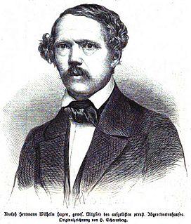 Adolf Hermann Hagen German politician