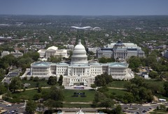 Aerial view, United States Capitol building, Washington, D.C LCCN2010630477.tif