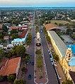 Aerial view of Avenida Agustín Fernando de Pinedo looking north.jpg