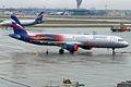 Aeroflot (Manchester United livery), VP-BTL, Airbus A321-211 (16268843670).jpg