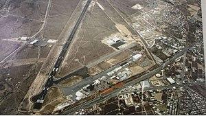 Saltillo Airport - Image: Aeropuerto Internacional Plan de Guadalupe, March 2015