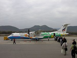 Bangkok Airways'e ait bir ATR 72-500