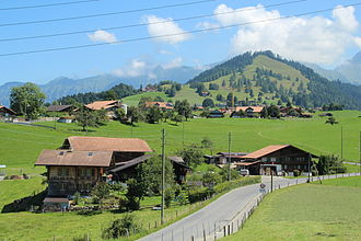 Aeschi bei Spiez - Farm houses and vacation houses in Aeschiried