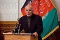 Afghan President Ghani Delivers Remarks at a Joint Press Availability (25726594024).jpg