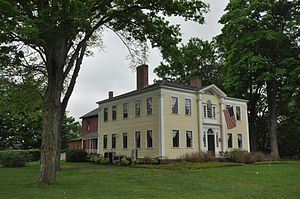 Capt. Charles Leonard House - Image: Agawam MA Charles Leonard House