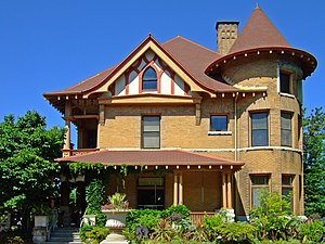 National Register of Historic Places listings in Madison, Wisconsin - Image: Agricultural Dean's House Madison