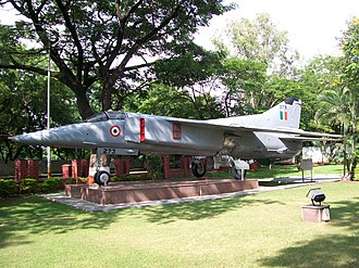 National War Memorial Southern Command - Mig 23 BN aircraft at National War Memorial Pune