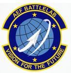 Air Expeditionary Force Battlelab emblem.png
