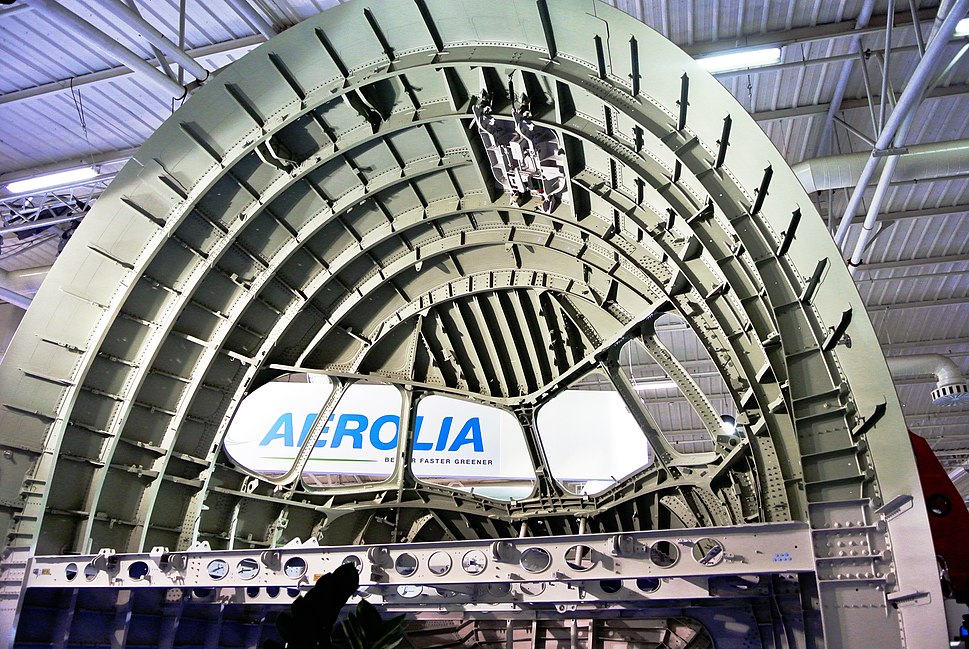 Airbus A350 Aerolia Troncon11 LeBourget2013 2092