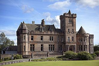 Robert Haldane - Airthrey Castle, Airthrey Estate